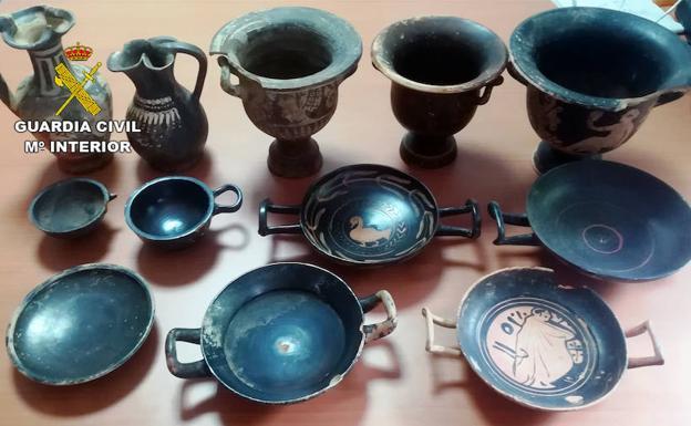 expolio arqueológico