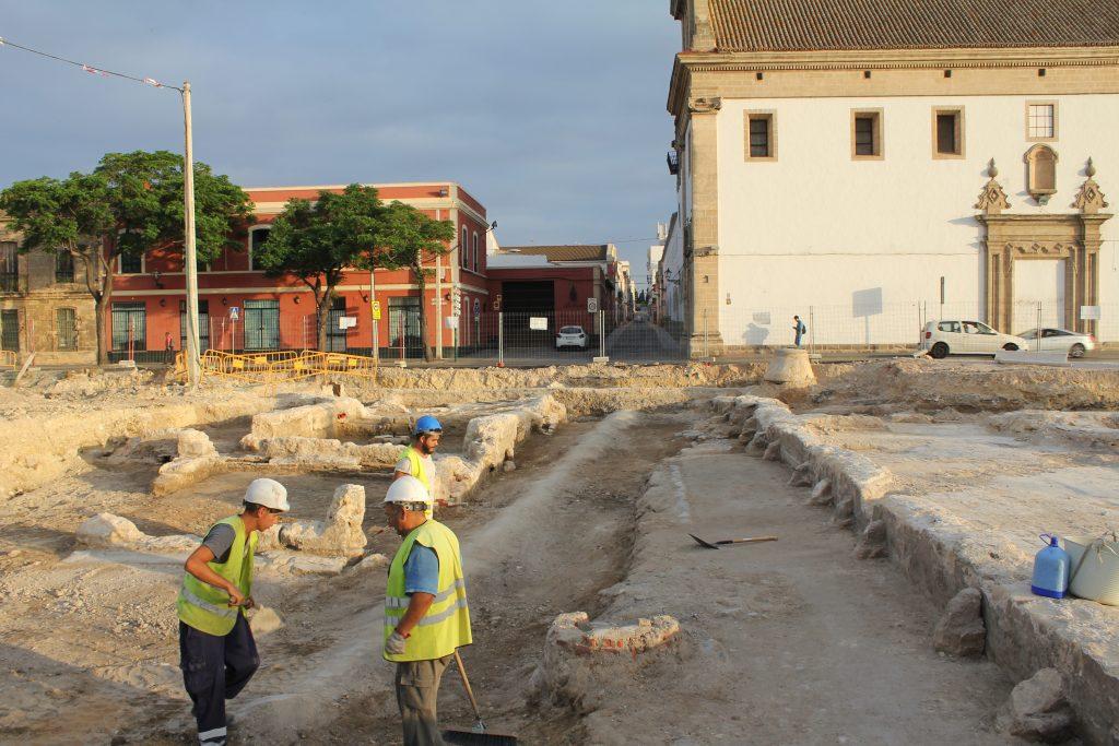Excavación de parking de Pozos Dulces - Puerto de Santa María - Juan Miguel Pajuelo