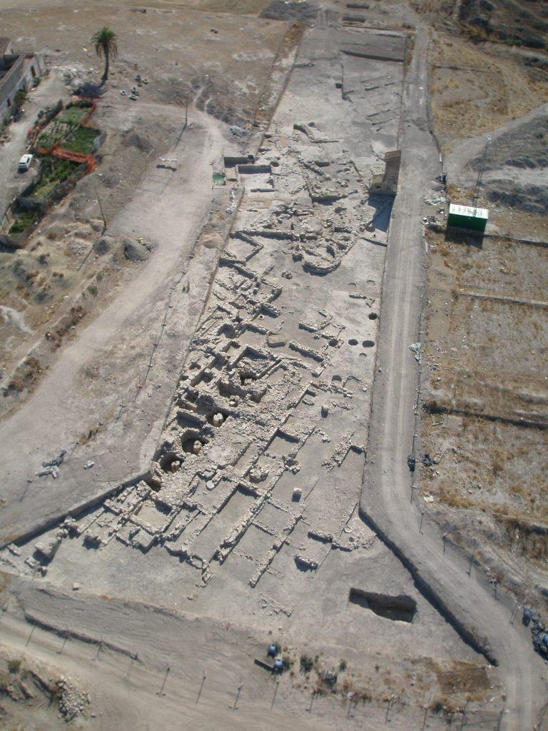 Foto aérea del Cortijo de los Robles - Jaén - Montserrat Llorente